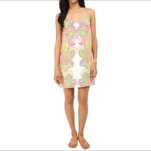 Lilly Pulitzer Dusk Silk Dress NWOT